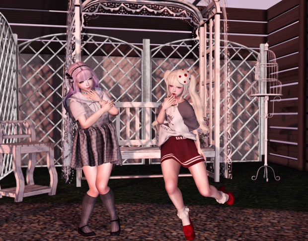 pastel me second life fashion blog cute kawaii style sl
