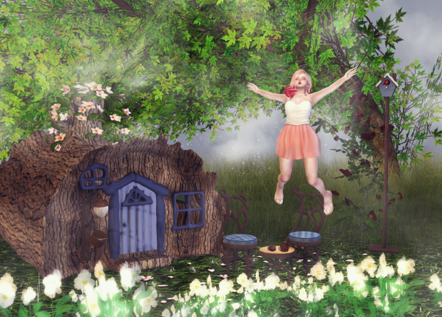 pastel me second life fashion garden blog sl cute
