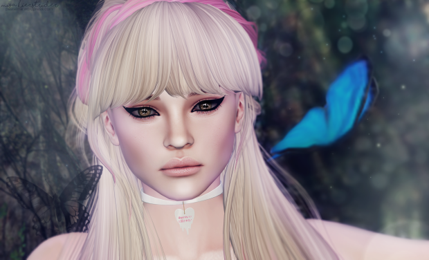 pastel me second life makeup fashion style blog sl