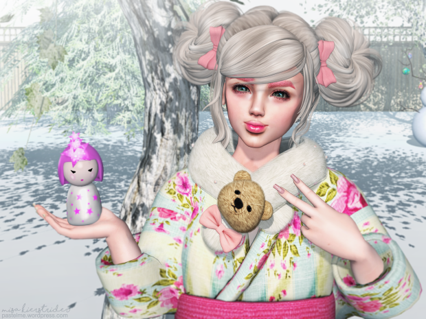 pastel me second life fashion kawaii cute sl blog catwa mignon